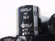1 x 15000uF 16V ELKO snap in radial #14E50#