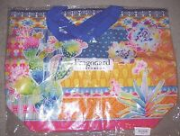 Womens Fragonard Perfume Large Travel Overnight Bag Purse Beach Tote 22x16