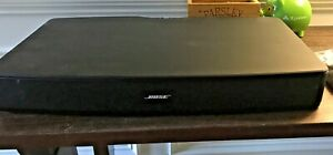 BOSE SOLO TV Sound System Soundbar With Remote Cords and Manual