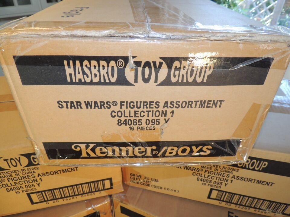 16 STAR WARS FIGURER:EPISODE 1 MOC, KENNER HASBRO