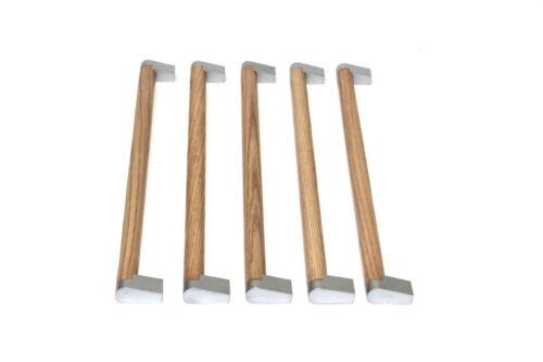 5 x Griff Griffe Eiche Möbelgriff Möbelgriffe Küchengriffe Stangengriffe 340 mm