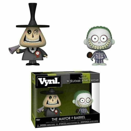 Funko Vynl The Mayor and Barrel The Nightmare Before Christmas New