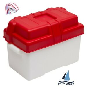 CASSETTA-PORTABATTERIA-STAGNA-impermeabile-Nautica-barca-porta-batteria-camper