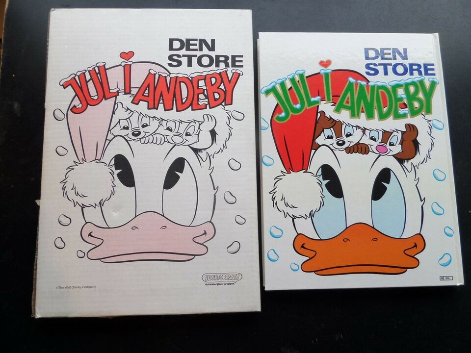 DEN STORE HVIDE ANDERS AND, W.D., Tegneserie