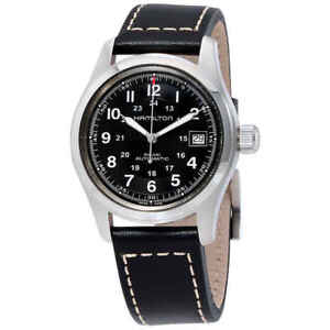Hamilton-Khaki-Field-Automatic-Men-039-s-Watch-H70455733