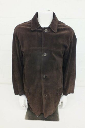 The Original Leather Line New York Dark Brown Sued
