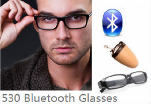 Image result for Spy Bluetooth Earpiece Glasses Set