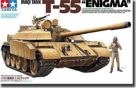 Tamiya 1 35 Iraqi Tank T-55  Enigma