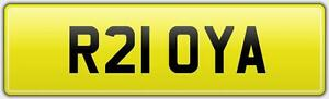 ROYA-RARE-2-DIGIT-REG-NUMBER-PLATE-R21-OYA-WITH-FEES-PAID-ROYAS-ROYAL-ROY-DREAM