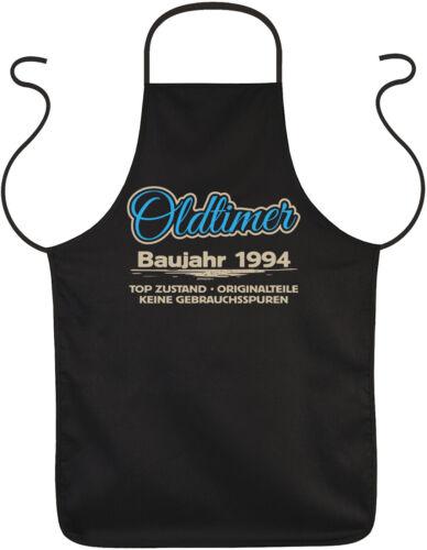 25 Jahre 25 Geburtstag Schürze Sprüche Kochschürze Jahrgang 1994 Grillschürze