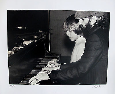 THE ROLLING STONES Hand Signed Limited Edition Photograph by GREGG COBARR