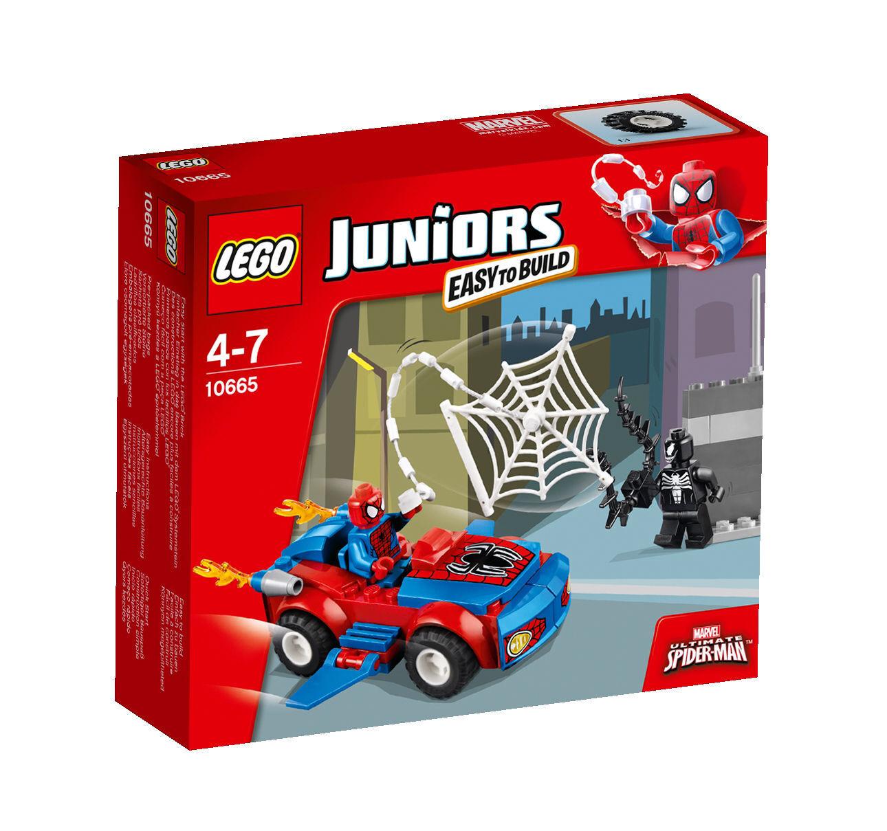 LEGO ® Juniors Spider-Man Spider-Car persécution (10665)