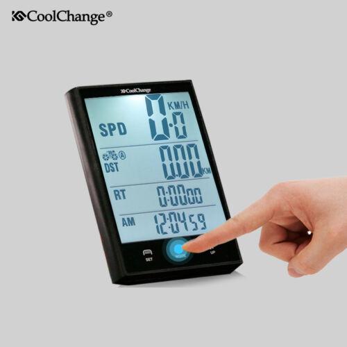 Waterproof Wired Wireless Cycling Bike Computer LCD Bicycle Speedometer Odometer