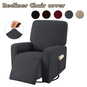 Stretch-Recliner-Chair-Cover-Sofa-Armchair-Slipcover-Furniture-Protector