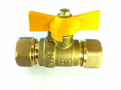 """1//2/"""" BUTTERFLY BALL VALVE for gasFlex flexible gas piping 1216 X 1216 1 unit"""