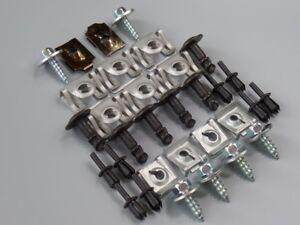 32-Teile-Unterfahrschutz-Einbausatz-Unterboden-Motorschutz-Clips-Set-BMW-3er-E90