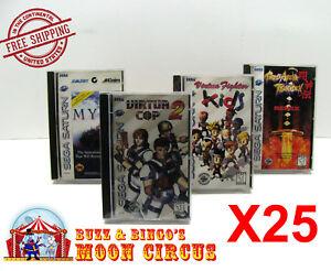 25x-SEGA-SATURN-CIB-GAME-CLEAR-PLASTIC-PROTECTIVE-BOX-PROTECTOR-SLEEVE-CASE