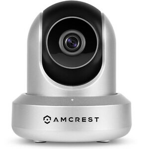 Amcrest HDSeries 720P POE IP Security Surveillance Camera System IPM-721ES (Silv