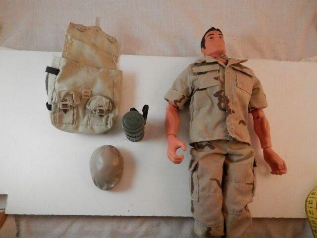 Original GI Joe Action figure figure figure 1996 camouflage with accessories e43f0c