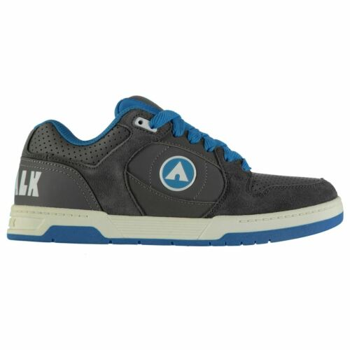 Airwalk Kids Boys Throttle Junior Skate Shoes Lace Up Padded Ankle Collar Tongue