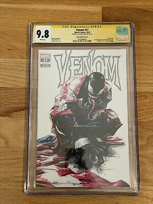 Venom 27 CGC 9.8 Ss Signed By Clayton Crain Variant A First APPEARANCE OF CODEX