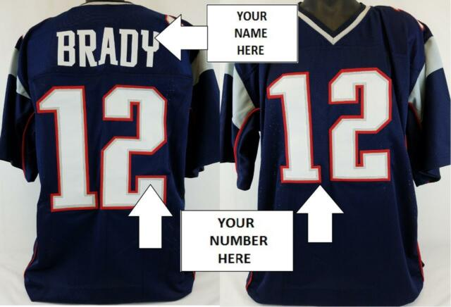 newest 8b5a9 c1423 CUSTOM Men's Football Jersey ANY HOME TEAM Personalized Name/Number  L,XL,2X,3XL