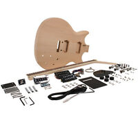 Premium Prs Style Diy Electric Guitar Kit - Unfinished Luthier Project Kit on sale