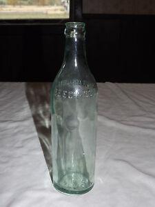 VINTAGE SODA OLD BEECH NUT CANAJOHARIE NY GREEN SODA BOTTLE