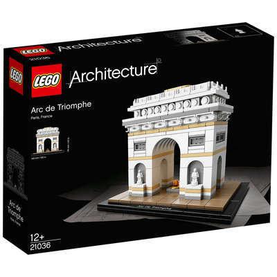 LEGO 21036 Architecture Arc de Triomphe (BRAND NEW SEALED)