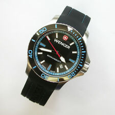 NEW $250 GENTS 43MM WENGER 641.104 BLUE SEA FORCE OUTSIDE MAGAZINE WATCH OF YEAR