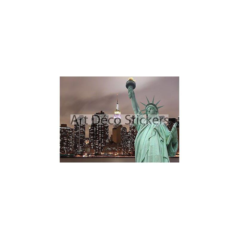 Sticker mural géant Statue liberté de la liberté Statue 260x360cm P130 77D477D98D3B 3b2fa0