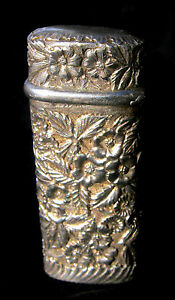Match-Safe-Floral-Repousse-Sterling