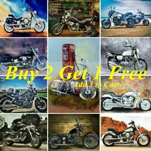 Motorcycle-Full-Drill-DIY-5D-Diamond-Painting-Embroidery-Decor-Cross-Stitch-Kits