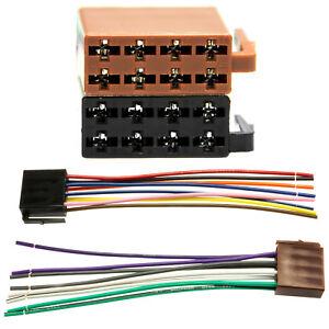 DIN-ISO-Auto-Radio-Adapter-Kabel-Stecker-16-Pin-Norm-Strom-Lautsprecher