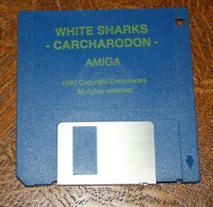 Commodore AMIGA Disk / Spiel: CARCHARODON WHITE SHARKS - RARE! - Solingen, Deutschland - Commodore AMIGA Disk / Spiel: CARCHARODON WHITE SHARKS - RARE! - Solingen, Deutschland
