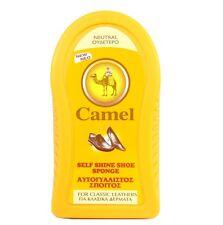 Camel Self-Shine Shoe Sponge for Classic Leathers Neutral