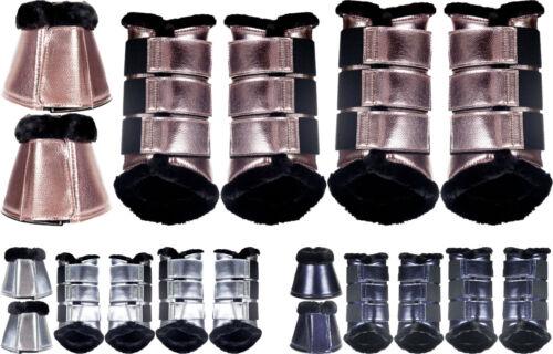 Ηκμ Guêtres Hufglocken Set metallic comfort 10838, 10839