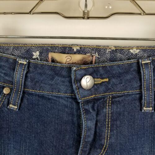 Dark Jeans Boot Womens Wash Paige Taglia Blue 29 Cut 7vtwgaqW1