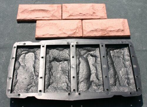 Moule pour fabrication de brique de parrement  taille 1