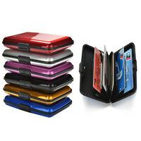 Blocking Hard Case Wallet Credit Card Anti-RFID Scanning Protect Holder LA
