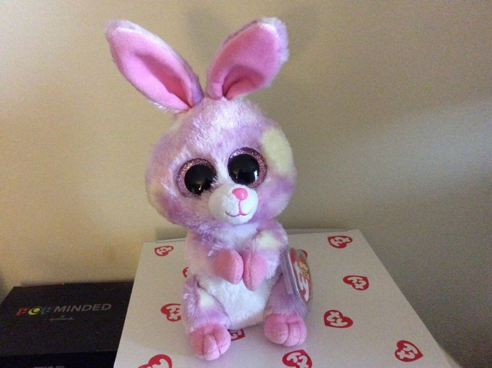 Ty Beanie Boo AVRIL the Bunny 2016 Exclusive 6  MWMT