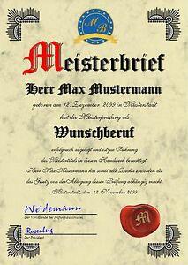 Meisterbrief-Diplom-Meisterurkunde-Meisterdiplom-Meistertitel-Urkunde-UK-10164