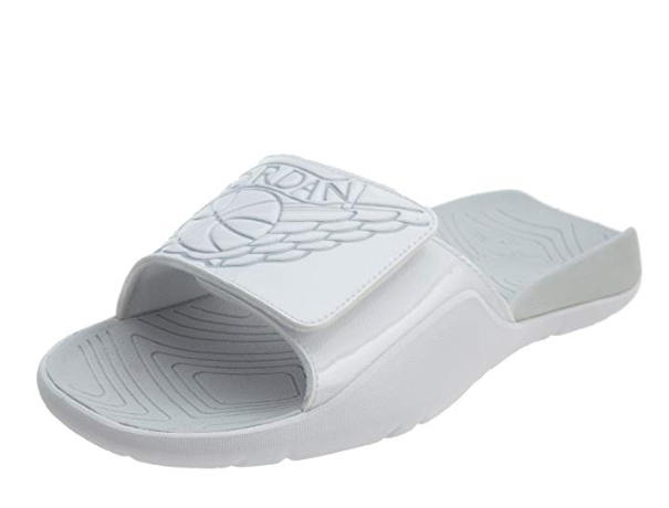 773bf596a24a0 Jordan Boy's Hydro 7 Slide Sandals White Aa2516 100 Size 6y for sale ...