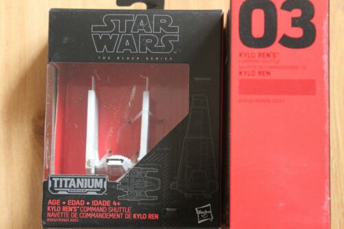 Star Wars Black Series Titanium 1-33 U CHOOSE SOLD OUT in Stores SOME ADDED!