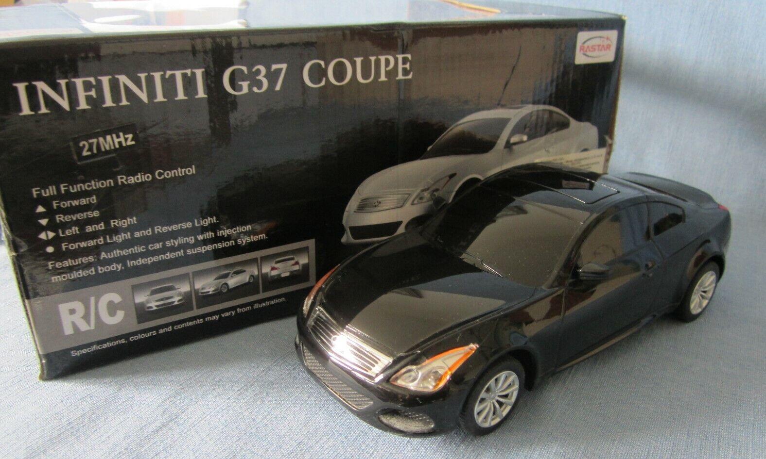 Infiniti g37 coupé 1 24 RC de 2011 radio controlled Nissan Skyline maqueta de coche
