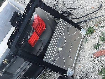 Sunroof Moon Shield Roof Visor Type 2 980mm Dark Smoke 1997-2003 BMW 525i 528i