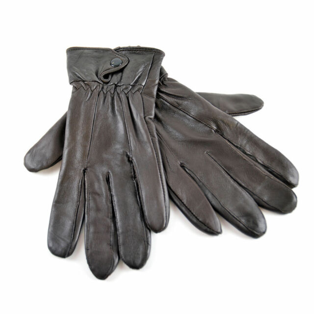 GL146 1 Ladies Soft Leather Sheepskin Winter Gloves RJM© Tom Franks