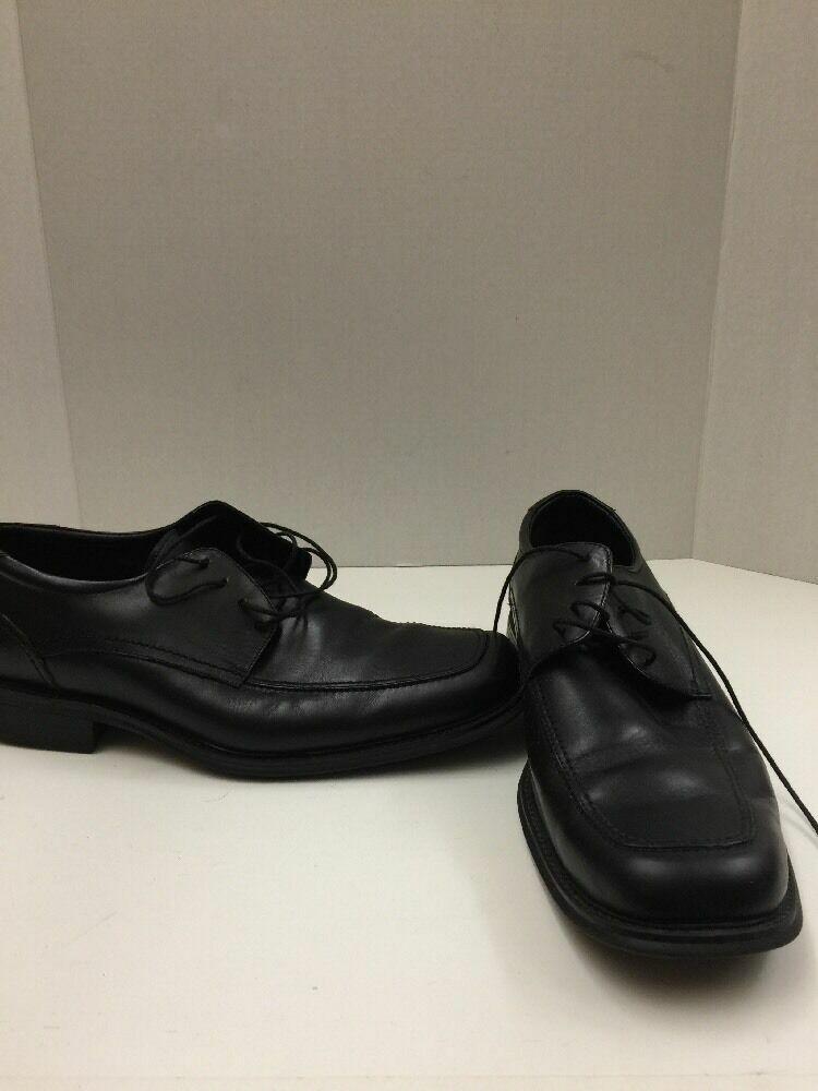Joseph Abboud Size 12 Men's Black Leather Dress Shoes A490