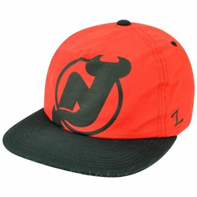 Sport Fanartikel Sinnvoll Nhl Zephyr Jersey Devils Hotdogger Retro 5 Panel Reißverschluss Rücken Gurt Hut