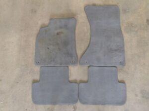 Oem Audi A4 S4 09 12 Sdn Gray Carpet Floor Mats 8k1863691c 4dp 8k0864450 4dp Ebay